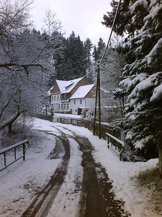 Mühlweg Winter